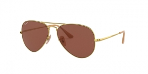 RAY-BAN Aviator Metal Ii RB3689 9064AF GOLD