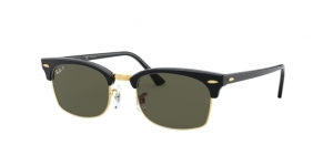 RAY-BAN Clubmaster Square RB3916 130358 SHINY BLACK