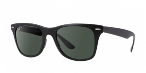 Liteforce Wayfarer RB4195-601S9A MATTE BLACK POLAR GREEN