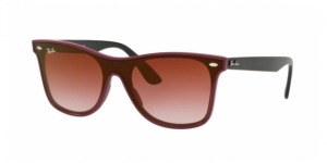 RAY-BAN Blaze Wayfarer RB4440N 64180T BORDEAUX DEMISHINY