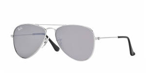 Junior Aviator RJ9506S 212/6G SHINY SILVER SILVER MIRROR