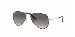 Junior Aviator RJ9506S 271/11 SILVER ON TOP BLACK