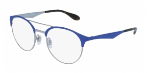 RAY-BAN RX3545V 2911 GUNMETAL/MATTE LIGHT BLUE