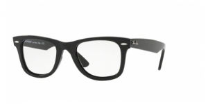 RAY-BAN Wayfarer Ease RX4340V 2000 SHINY BLACK