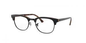 Clubmaster RX5154 5909 TOP GREY ON HAVANA
