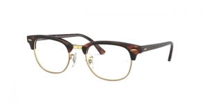 Clubmaster RX5154 8058 MOCK TORTOISE