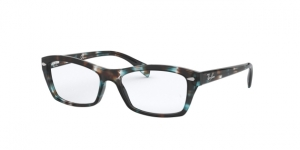 RX5255 5949 HAVANA OPAL LIGHT BLUE