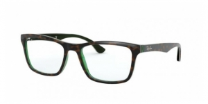 RX5279 5974 TOP BROWN OH HAVANA GREEN TRAS