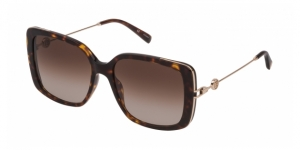 SESA69 0743 SHINY BROWN HAVANA/YELLOW