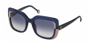 CAROLINA HERRERA SHE786 0AGQ SHINY TRANSPARENT BLUE