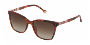 SHE828 09D7 RED HAVANA / BROWN GRADIENT