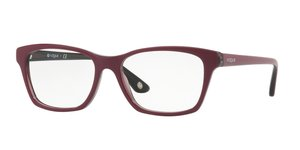 VO2714 2584 TOP DARK RED/RED TRANSP