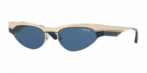 VO4105S 848/80 BRUSHED PALE GOLD/BLUE