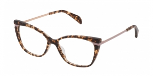 TOUS VTOA55 0781 SHINY BROWN-YELLOW HAVANA