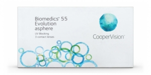 Cooper Vision BIOMEDICS 55 EVOLUTION (3) ZBA3